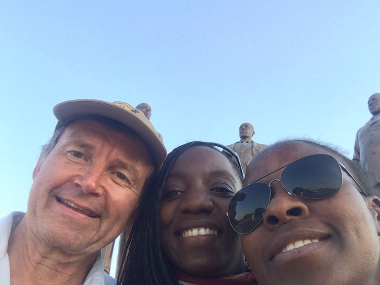 Gaborone - with Maggie and Tsepang